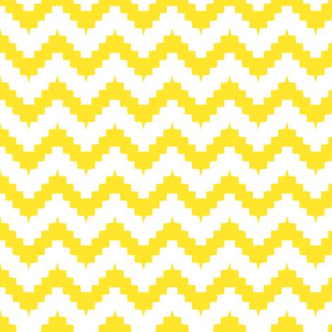 chevronyellow fabric by ravynka on Spoonflower - custom fabric