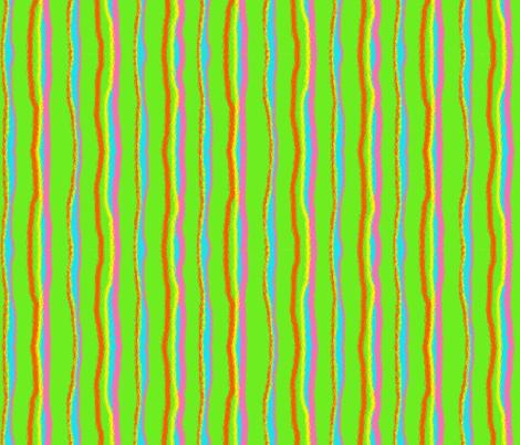 Bright Stripe-Green fabric by mammajamma on Spoonflower - custom fabric