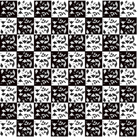 Teeny Tiny checkerboard Kites fabric by scifiwritir on Spoonflower - custom fabric