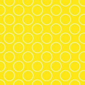 Yellow circles - small scale