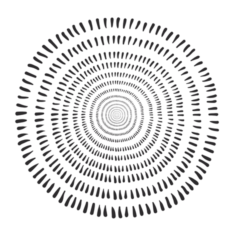 Cally Creates - Fjorn on white fabric by callycreates on Spoonflower - custom fabric