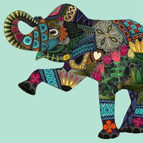 asian elephant aqua I