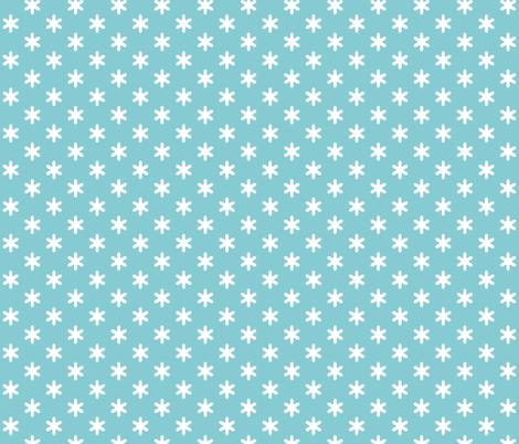 Cally Creates - Softstar - blue fabric by callycreates on Spoonflower - custom fabric