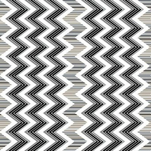 Chevron Contrast vertical