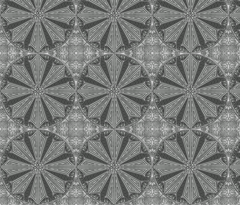 ©2011 Circle of Rock fabric by glimmericks on Spoonflower - custom fabric