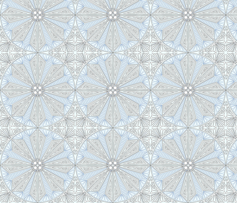 ©2011 Circle_of_Ice fabric by glimmericks on Spoonflower - custom fabric