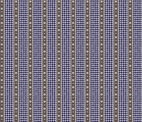 Lavender Moxie Gingham fabric by eppiepeppercorn on Spoonflower - custom fabric