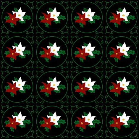 Rrpoinsettia_pair_of_seasonal_flowers_-_black_-_2012_tara_crowley_shop_preview