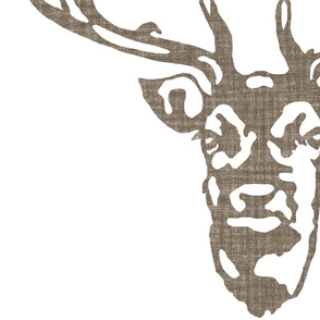 Wild Welsh Stag - Large Centered