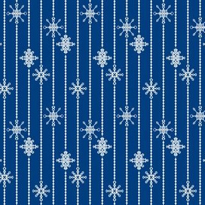 Snowflake Decorations, Night