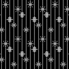 Snowflake Decorations, Midnight