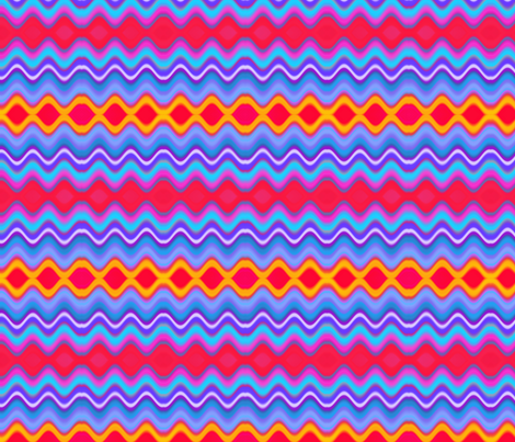 zigzag fabric by ambies on Spoonflower - custom fabric