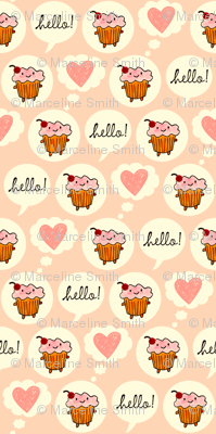 Hello Cupcake (Pink)