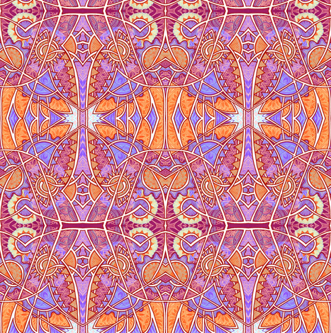 Pass the Suntan Lotion Before I Turn Lobster fabric by edsel2084 on Spoonflower - custom fabric