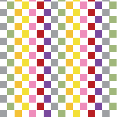 Stripes and Squares fabric by laurawilson on Spoonflower - custom fabric