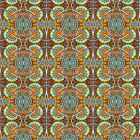 Southwestern Hot Sauce fabric by edsel2084 on Spoonflower - custom fabric