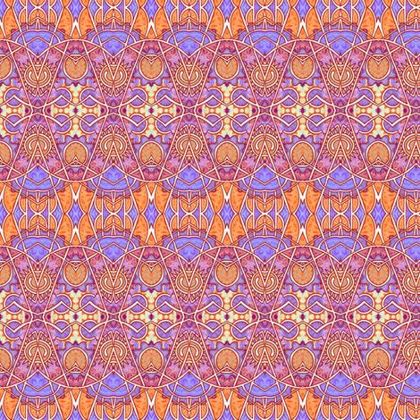 Neon Clockwork fabric by edsel2084 on Spoonflower - custom fabric