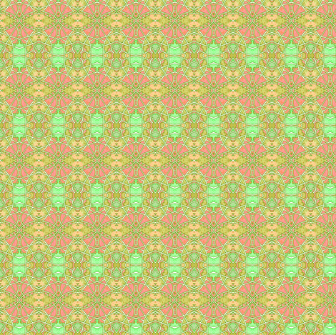 Tiny Sherbert Shoot fabric by edsel2084 on Spoonflower - custom fabric