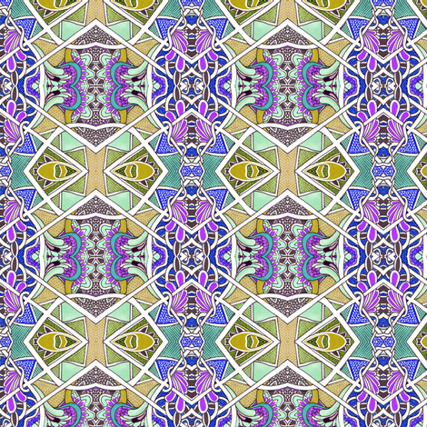 Faberge, Eat Your Heart Out fabric by edsel2084 on Spoonflower - custom fabric