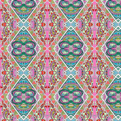 We Could Go to India This Summer fabric by edsel2084 on Spoonflower - custom fabric