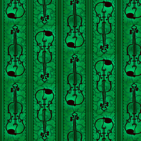 VIOLIN Concerto fabric by glimmericks on Spoonflower - custom fabric