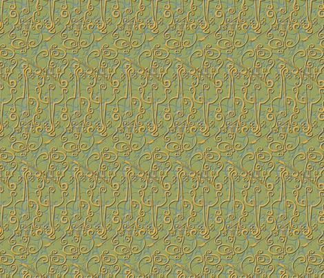 VIOLIN adante flourish fabric by glimmericks on Spoonflower - custom fabric