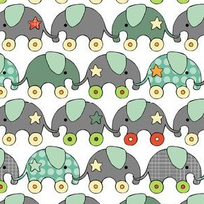 Toy Elephants