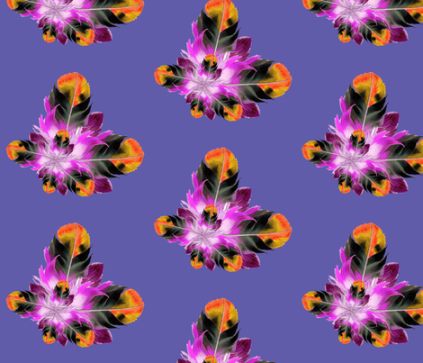 Plucked in Purple fabric by dolphinandcondor on Spoonflower - custom fabric