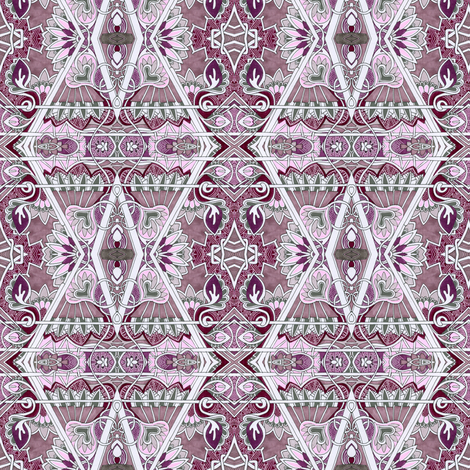 Dusty Victorian  fabric by edsel2084 on Spoonflower - custom fabric
