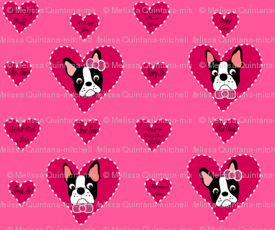 Valentine Bostons, too!