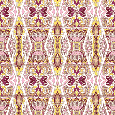 Victorian Ornamental (larger scale) fabric by edsel2084 on Spoonflower - custom fabric