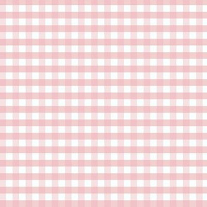 Gingham Small Pale Pink
