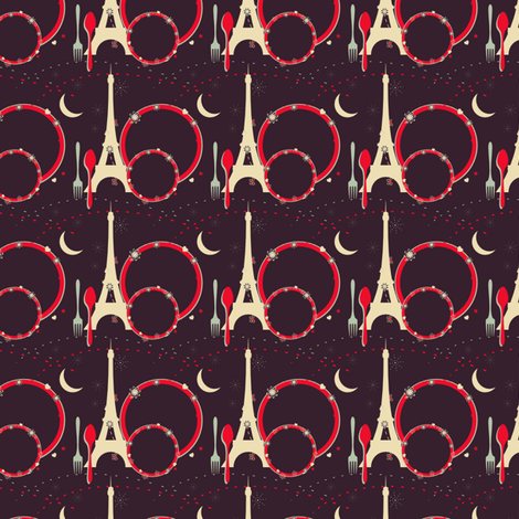 Dinner Out Tonight fabric by eppiepeppercorn on Spoonflower - custom fabric