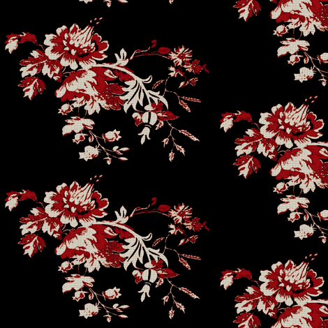 The year of the dragon / flora fabric by paragonstudios on Spoonflower - custom fabric