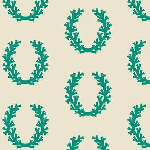 Intricate_Coral_Wreath_-_Sealeaf_Green