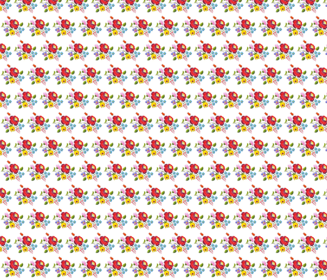 magyar flower fabric by roxy22 on Spoonflower - custom fabric