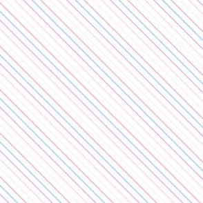 Rainbow Pastel - Mini Stripes -  © PinkSodaPop 4ComputerHeaven.com