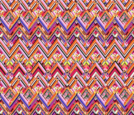 Sangria Southwest fabric by joanmclemore on Spoonflower - custom fabric