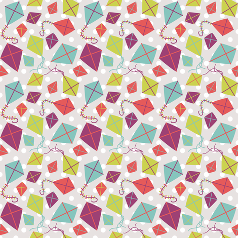 A Windy Day fabric by audreymann on Spoonflower - custom fabric