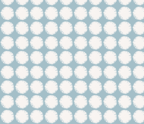Powder puffs by Su_G fabric by su_g on Spoonflower - custom fabric