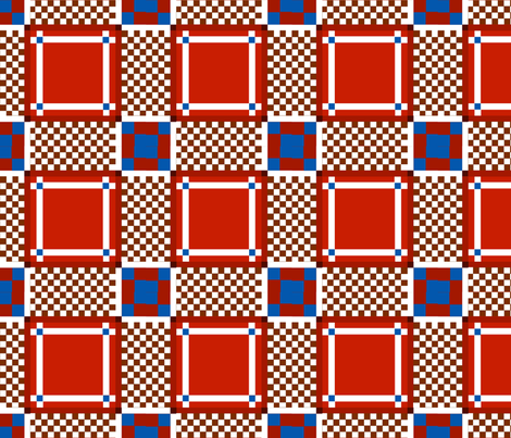 Plaid4 fabric by ilively on Spoonflower - custom fabric