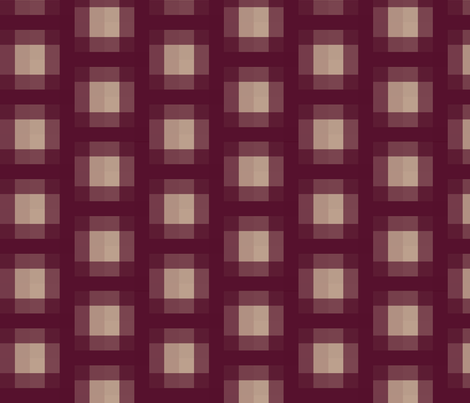 Sprout in Plum Plaid fabric by bluenini on Spoonflower - custom fabric