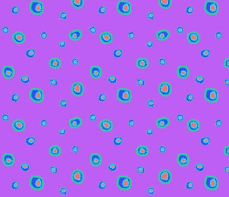 Bright Dots-Purple fabric by mammajamma on Spoonflower - custom fabric