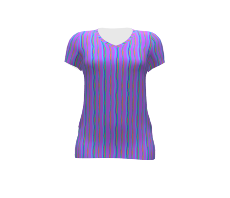 Bright Stripe-Purple