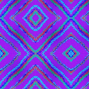 Diamonds -Purple