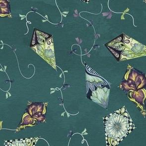 Neuvo Floral Ditsy Kite Print