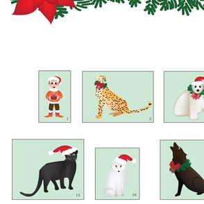 Endangered Species Christmas Calendar