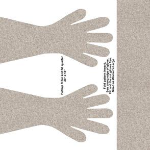 Light Brown Gloves - soft