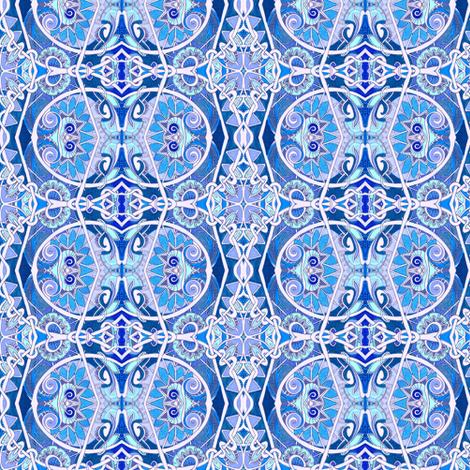 Winter Wonderland fabric by edsel2084 on Spoonflower - custom fabric