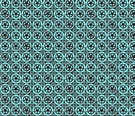 wheel2 fabric by glimmericks on Spoonflower - custom fabric